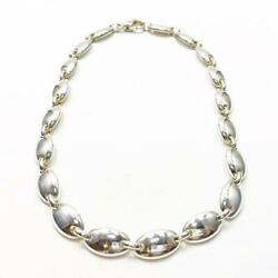 And Co. 1990 Vintage Pebble Choker Necklace Free Shipping No.7751