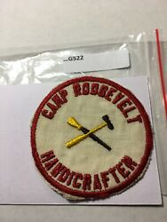 Camp Roosevelt Handicrafter No Gauze Early Patch G522
