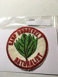 Camp Roosevelt Naturalist No Gauze Early Patch G523