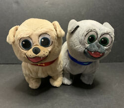 Puppy Dog Pals Pet Talk Plush Pals Bingo And Rolly To Barks And Talks Disney