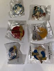 X6 Sack Time Surprise Nose Art Lapel Hat Pin Up Ww2 Us Army Air Corps Air Force