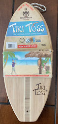 Tiki Toss Original Hook And Ring Game Set 100 Bamboo All Hardware Included