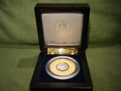 Franklin Mint Ancient Rome Drachma Silver Coin In Wood Case Genuine Rare2564kn