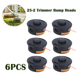 6pcs Trimmer Head String Trimmers For Stihl Autocut 25-2 Trimmer Bump Heads