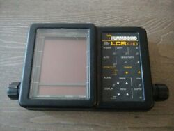 Humminbird Lcr 4 Id Fishfinder Head Unit And Cover, No Mount Or Cables