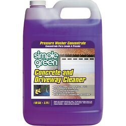 Simple Green 2310000418202 Concrete Cleaner, 1 Gallon Jug, Unscented