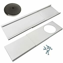 Jeacent Window Seal Plates Kit For Portable Air Conditionersplastic Ac Vent Kit