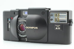 [near Mint] Olympus Xa Rangefinder Point And Shoot Camera + A11 Flash From Japan