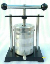 Tincture Press Ss 1ltr Food Grade Container Fruit Wine Cheese