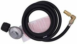 Universal Regulator Grill Qcc1 6.5 Feet 2 Meter Hose And Elbow Fitting Adapter