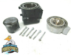 Nice Polaris Cylinder 85mm Nikasil With Piston Head And Rings 2003-2004 Msx 140
