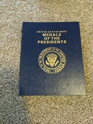 Us Mint Medals Of The Presidents Washington - George W Bush Used