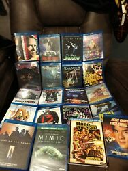 Horror Movie Blu Ray Lot Scream Factory Kino Olive Films Oop Some Sealed
