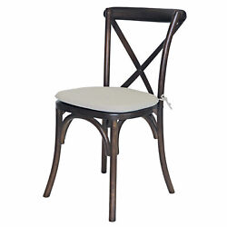 Pre Lucca X Back Set Of 4 Wood Chair 1100