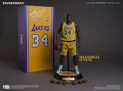 Enterbay Real Masterpiece Nba Collection Shaquhar Oand039neill 1/6 Collectible Figure