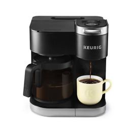Keurig K-duo Single-serve And Carafe Coffee Maker Black New In Box