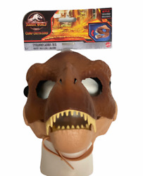 Jurassic World Tyrannosaurus Rex Mask With Movable Jaw Camp Cretaceous Free Ship