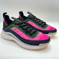 Nib 2021 Black Green Pink Blue 39 Eur Size Trainers Sneakers