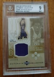 Kobe Bryant 2001-02 Ultimate Collection Game Jerseys Gold /50