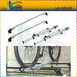 For Universal Chevy Dodge Ford Honda Top Roof Rack Cross Bars + Bicycle Cargo