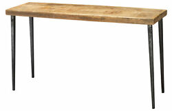 Jamie Young Farmhouse Console Table In Natural Wood 20farm-cona