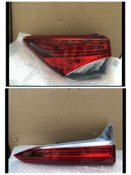 4pcs Car Rear Brake Taillight Fit For Toyota Fortuner 2016-2020