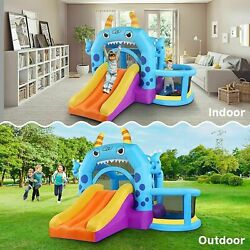 Safe Inflatable Bounce House Castle Jumper Bouncer Jump Bouncy Kids Best Gifts