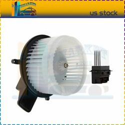 Front Blower Motor With Resistor A/c Fit For 2008-2009 Dodge Grand Caravan Kit