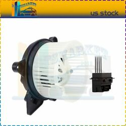 Front Blower Motor With Resistor Fit For 2004 2005 2006 2007-2009 Dodge Durango