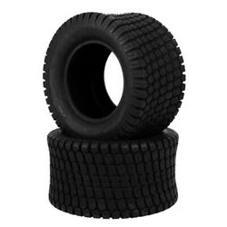 Two 24x12.00-12 Lawn Mower Tractor Turf Tires 6 Ply Rated 24x12-12 Tubeless