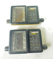 2 Humminbird Lcr 4000 Parts Only Untested