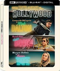 New Steelbook Once Upon A Time In Hollywood 4k / Blu-ray + Digital