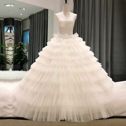 Sexy Weddings Dress Gowns Gothic Off Shoulder Backless Lace Corset Tulle Beading