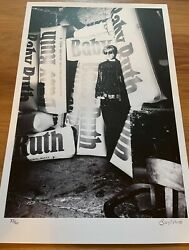 Billy Name Signed Andy Warhol Baby Ruth Candy Factory Photo Silkscreen Print