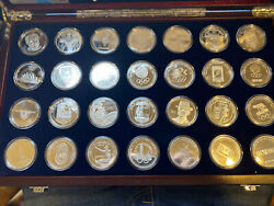 2008 Olympic Games Beijing Silver Set Of 30 Coins All Olympic Games 1 Oz Each