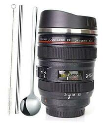 Camera Lens Coffee Mugstainless Steel Camera Lens Cupsunique Gift Idea For