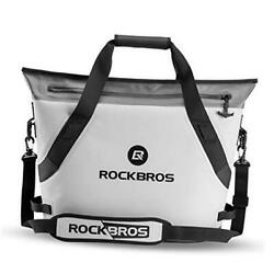 ROCKBROS Soft Cooler Portable Large Beach Cooler 36 Can Leak Proof Soft Sided $200.24