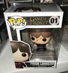 Game Of Thrones Scarred Tyrion Lannister Pop Vinyl + Hard Stack Vaulted