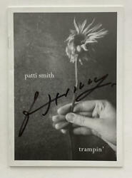Patti Smith Signed Autograph Trampin' Lyric Booklet - Punk Rock Icon, Horses