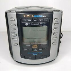 Timex T600b Alarm Clock Am/fm Radio Cd Player Nature Sounds Cd Player Not Workin