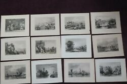 1842 China Its Scenery Architecture Etc By Allom And Bartlett 12 Chinese Plates 3
