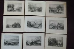 1842 China Its Scenery Architecture Etc By Allom And Bartlett 9 Chinese Plates 4