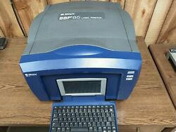 Brady Bbp85 Industrial Label And Sign Printer Thermal Transfer 4-10 Wide