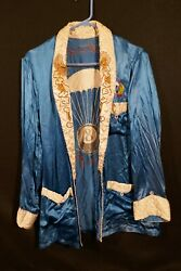 Ww2 Us Army 511th Parachute Infantry Regiment Smoking Jacket And039c Kellermanand039 Rare