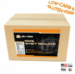 15lb Bulk Whey Protein Isolate Not Concentrate Manufacturer Direct Unflavored