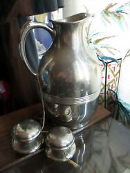 1915 Antique Landers Frary And Clark Universal Coffee Thermos Carafe Pitcher