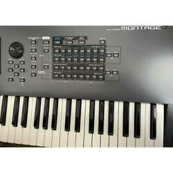 Yamaha Montage7 Music Synthesizer Motion Control Synthesis Engine From Japan F/s