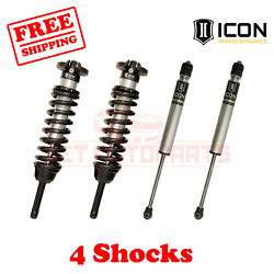 Icon Kit Of 4 2.5 Reservoir Coilovers+2.0 Ir Shocks For Toyota Tacoma 16-21