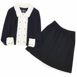 Setup Suit 04p Coco Mark Button Frill Collar Docking Jacket No.5731