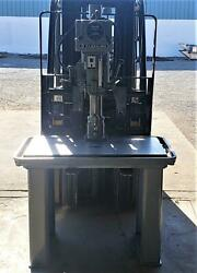 Clausing Model 2284 Production Drill Press 40 X 24 Oil Groove Table